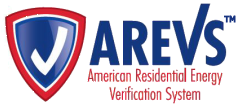 AREVS: American Residential Energy Verification System logo