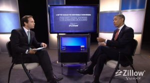 President Obama and Zillow CEO Spencer Rascoff discuss first time home buyers